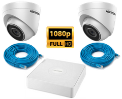 Комплект Hikvision KIT-IP 2 in 1080p