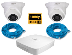Комплект Dahua KIT-IP 2 in 1080p